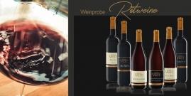 Weinprobe Rotweine